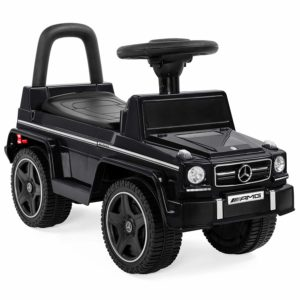 Best Choice Products Kids Toddler Luxury Mercedes G63 Convertible Cruiser Foot-to-Floor Ride-On Push Car Toy
