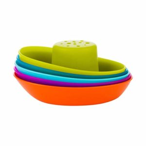 Boon Fleet Stacking Boats Bathing Toy