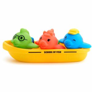 Munchkin School of Fish Toddler Bath Toy