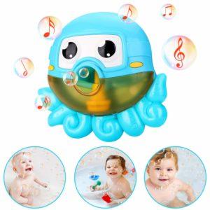 NextX Bath Toys Bubble Machine Octopus Musical Toys