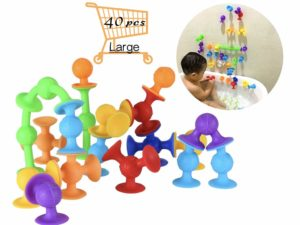 Bath Building Toys Suction Construction