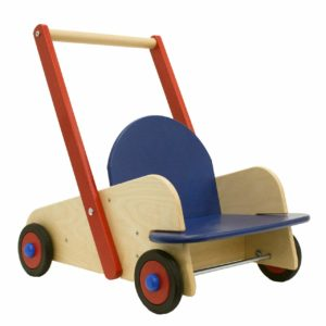 HABA Walker Wagon - First Wooden Push Toy