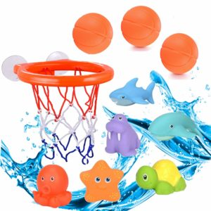 Small Adventures - Best & Fun Basketball Bath Toys for Toddlers & Kids