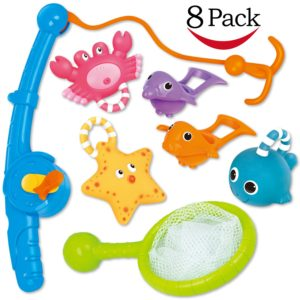 Bath Toy, Fishing Floating Squirts Toy