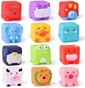 12 PCs Kids Bath Toys
