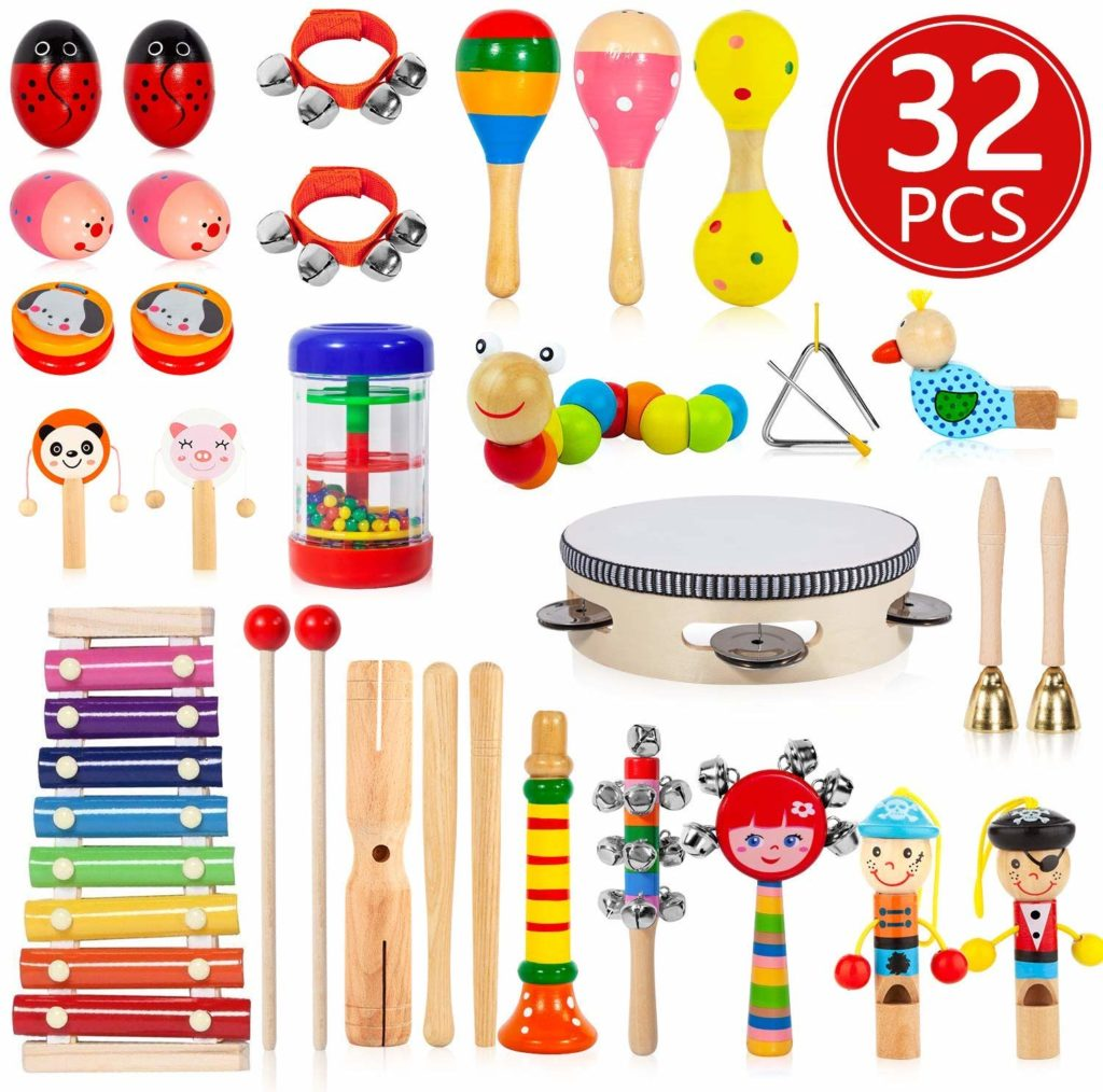 AOKIWO Kids Musical Instruments