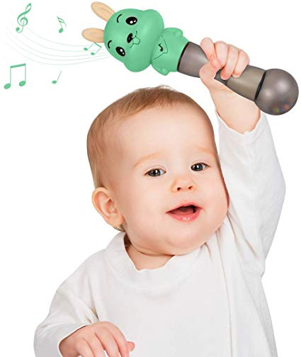 Baby Musical Toy ,TUMAMA 4 in 1 Musical Baby Rattle and Teethers