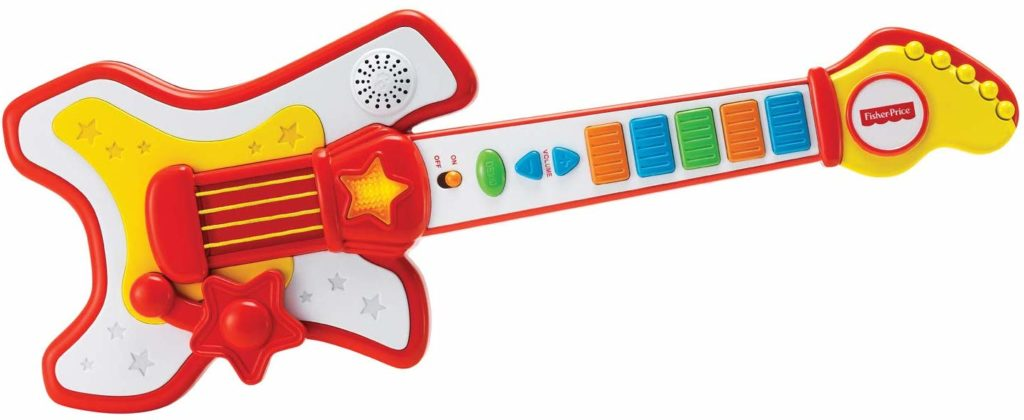 Fisher-Price Rockstar Guitar Toy