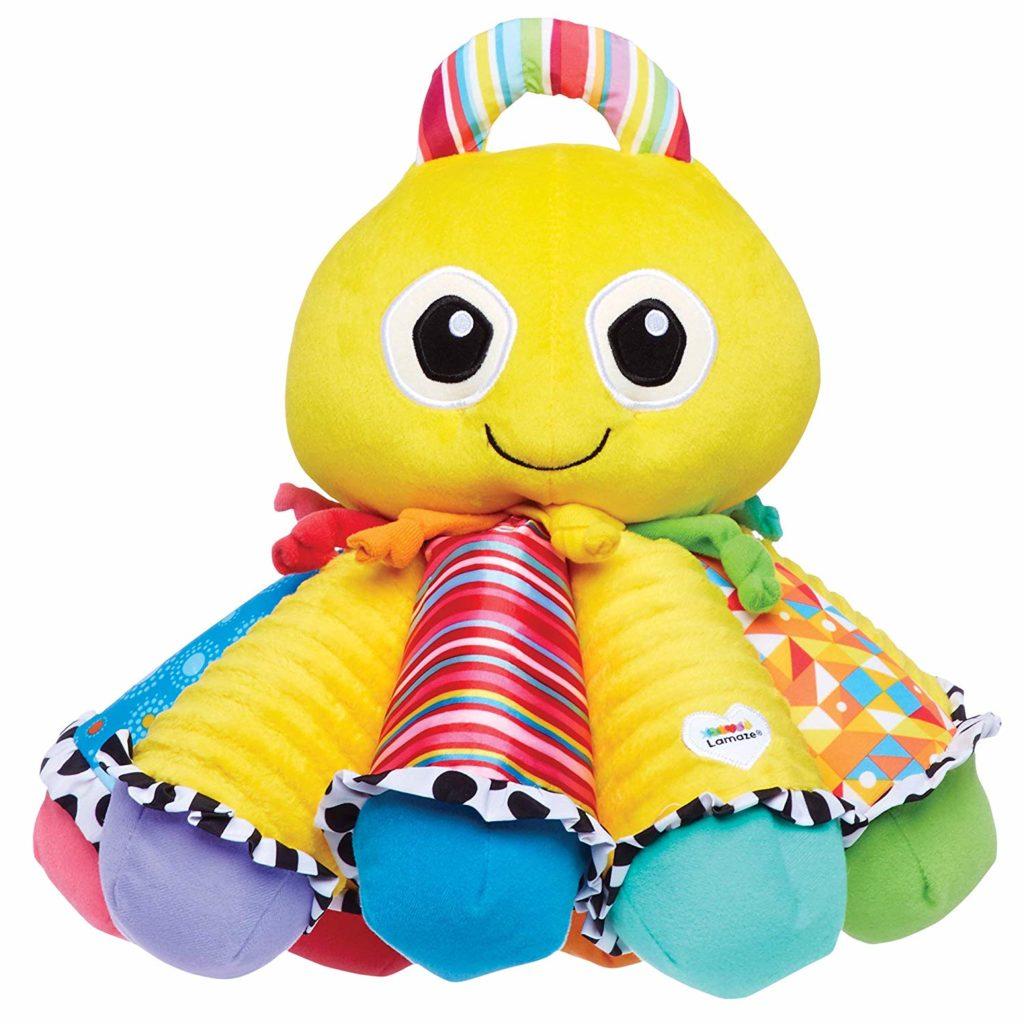 LAMAZE, Octotunes, Musical Octopus Stuffed Baby Toy