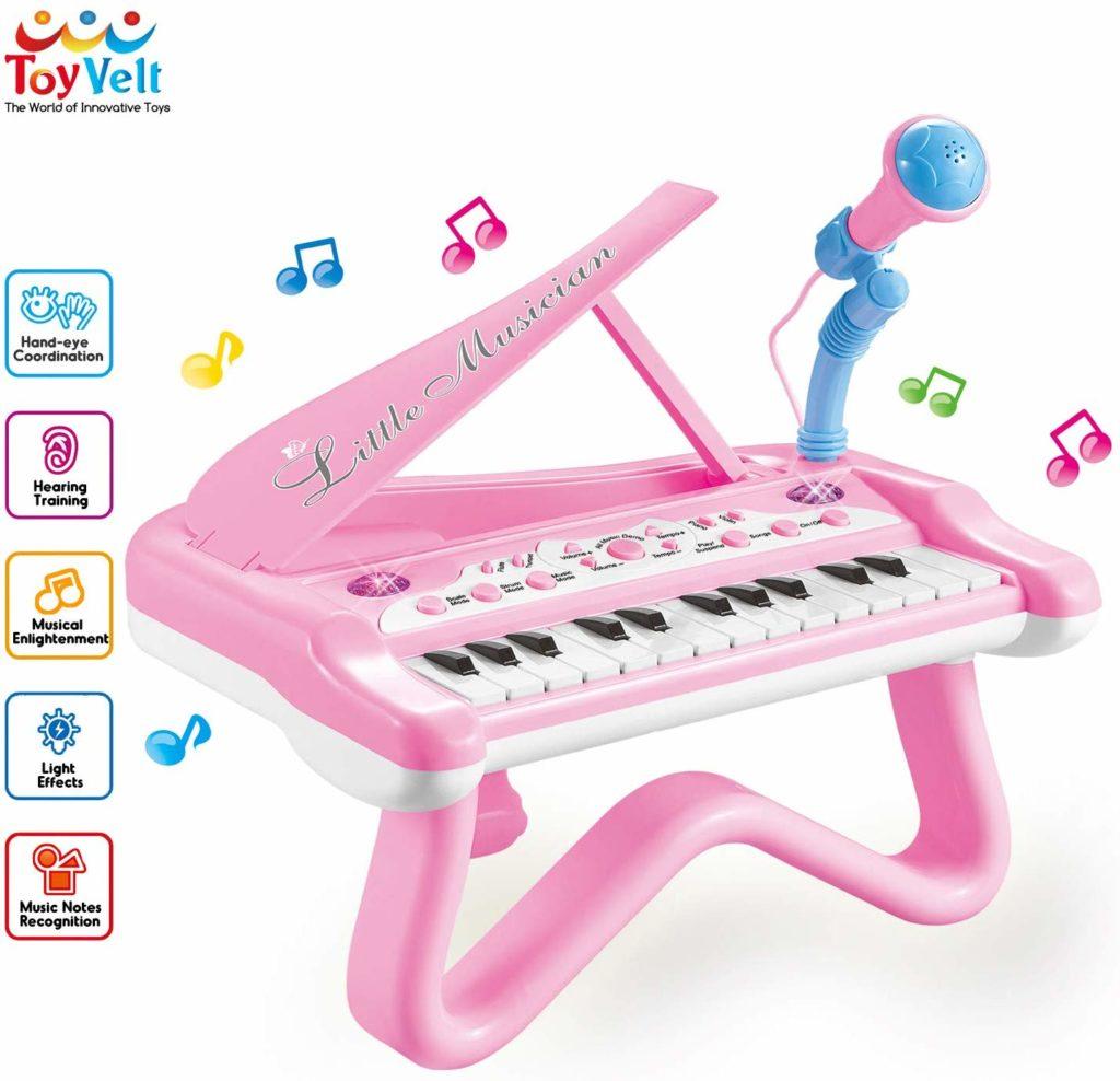 ToyVelt Toy Piano for Toddler Girls