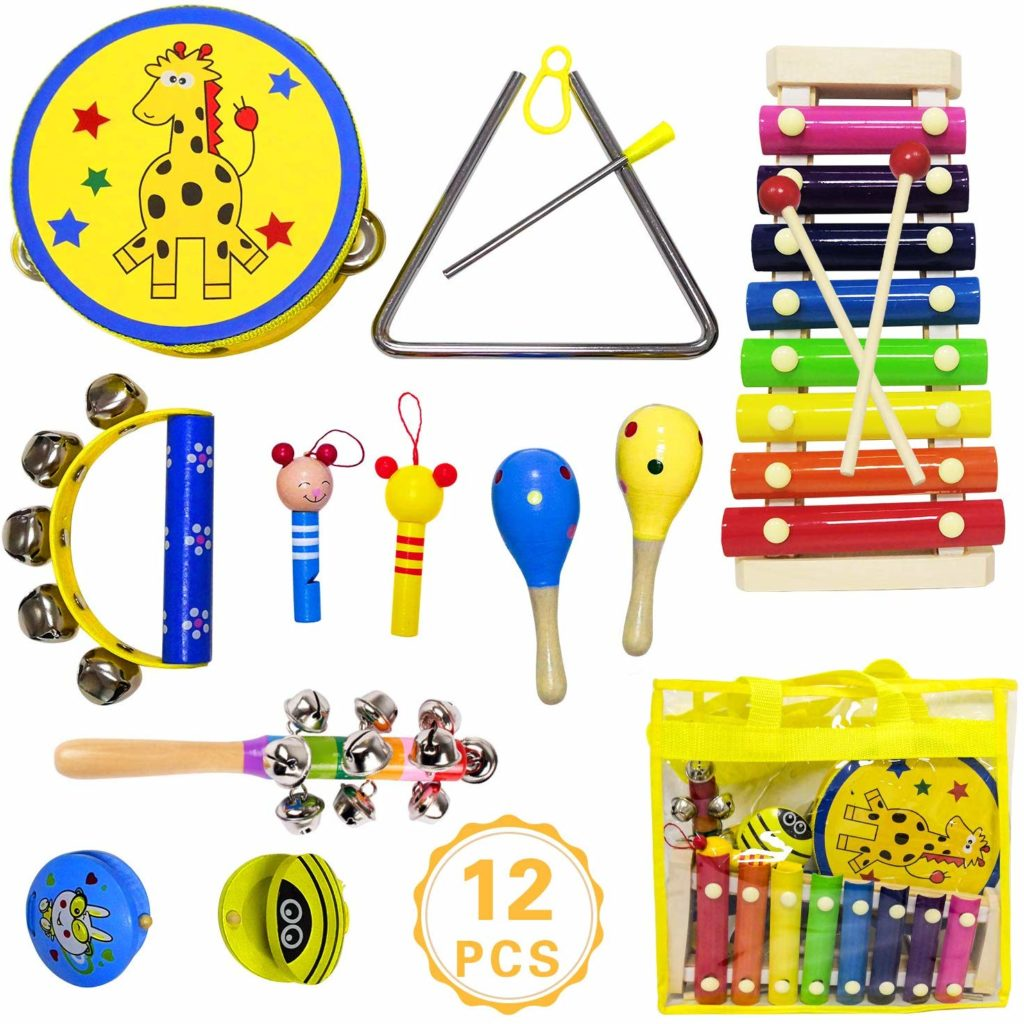 ToyerBee Musical Instruments Toys Set for Kids