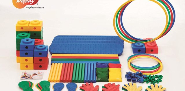 Weplay Motor skills Universal Set, 96 Pieces