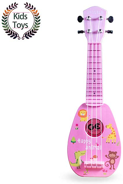 Yolopark 17 Mini Guitar Ukulele Toy for Kids